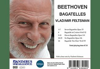 Vladimir Feltsman - BAGATELLES  - (CD)