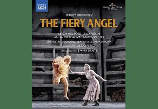 Vesin/Victorova/Paster/Melrose/Pérez/+ - THE FIERY ANGEL  - (Blu-ray)