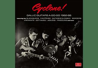 VARIOUS - Cyclone! Gallic Guitars A-Go-Go 1962-66  - (CD)