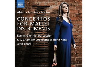 Glennie/Thorel/City Chamber Orchestra of Hong Kong - CONCERTOS FOR MALLET INSTRUMENTS  - (CD)