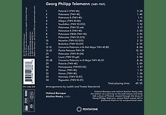 Aisslinn/holland Baroque Nosky - TELEMANN POLONOISE  - (SACD Hybrid)