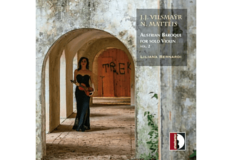 Liliana Bernardi - Austrian Baroque for Solo Violin,Vol.2  - (CD)