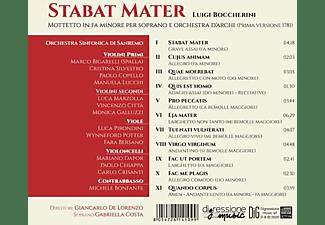 Costa,Gabriella/Lorenzo,Giancarlo De/Sanremo SO - Stabat Mater  - (CD)