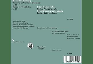 Kremer,Gidon/Gatti,Daniele/Gewandhausorchester - CONCERTO FOR VIOLIN AND ORCHESTRA OP. 67 - SONATA  - (CD)