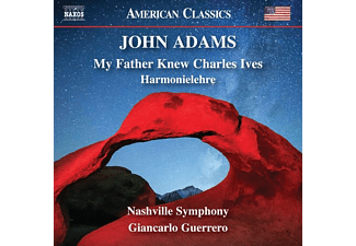 Giancarlo/nashville Symphony Guerrero - MY FATHER KNEW CHARLES IVES - HARMONIELEHRE  - (CD)