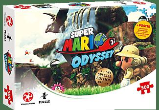 WINNING MOVES Super Mario Odyssey Fossil Falls Puzzle Mehrfarbig