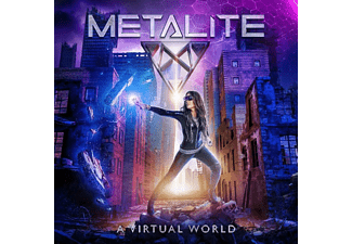Metalite - A Virtual World (Clear Purple Vinyl)  - (Vinyl)