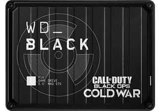 WD BLACK P10 Game Drive, Call of Duty Special Edition Gaming Festplatte, 2 TB HDD, extern, Schwarz