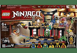 LEGO 71735 Turnier der Elemente Bausatz, Mehrfarbig