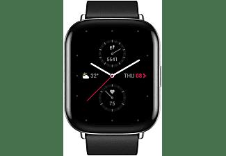 Smartwatch - Amazfit Zepp E Square Cuero, 20mm, Acero inoxidable, 5 ATM, Negro