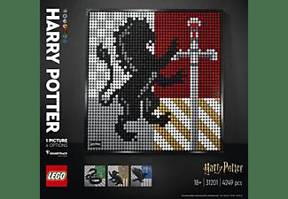 LEGO 31201 Harry Potter Hogwarts Crests Bausatz, Mehrfarbig