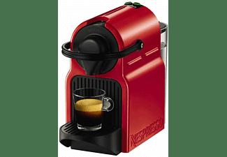 Cafetera de cápsulas - Nespresso® Krups INISSIA XN1005P4, Presión de 19 bares, Potencia 1260W, Rojo