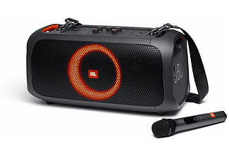 Altavoz inalámbrico - JBL Partybox on the Go, Bluetooth, IPX4, 100W RMS, Negro
