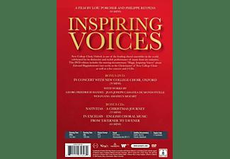 Edward Higginbottom, Oxford New College Choir - INSPIRING VOICES  - (DVD + CD)