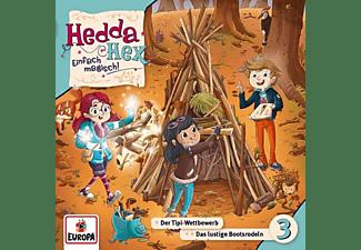 Hedda Hex - 003/Der Tipi-Wettbewerb/Das lustige Bootsrodeln  - (CD)