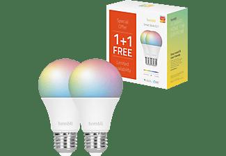HOMBLI HBPP-0102 SMART GLÜHBIRNE CCT/RGB 1+1 GRATIS LED Glühbirne Mehrfarbig/RGB