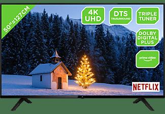 OK. ODL 50850US-TIB LED TV (Flat, 50 Zoll / 126 cm, UHD 4K, SMART TV)