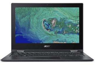 """ACER Convertible Spin 1 mit 1 Jahres Abo Office365 Personal, N4120, 4GB, 64GB, 11.6"""" HD Touch, Schwarz"""
