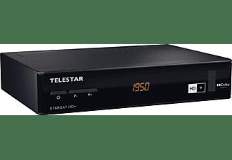 TELESTAR Starsat HD+ Receiver (HDTV, HD+ Karte inklusive, DVB-S, DVB-S2, Schwarz)