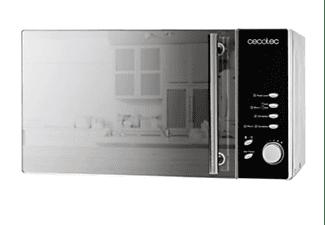 Microondas - Cecotec Convection 2500, Grill, 1950 W, 25 L, 8 Programas, Inox