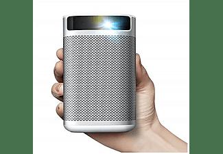 Proyector portátil - Xgimi MoGo Pro, DLP, Full HD, 300 lúmenes, Android TV, Wi-Fi, Harman Kardon, Batería