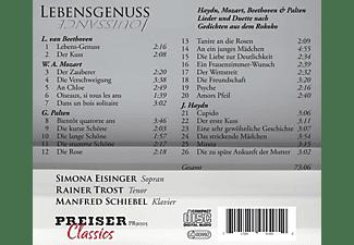 Eisinger,Simona/Trost,Rainer/Schiebel,Manfred - Lebensgenuss  - (CD)