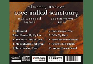 Szepesi,Maria/Varga,Zsuzsa - Thimoty Hodor's Love Ballad Sanctuary  - (CD)