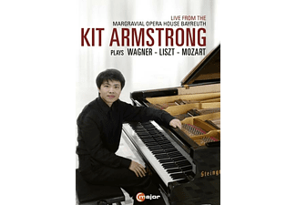 Kit Armstrong - Kit Armstrong plays Wagner,Liszt and Mozart  - (DVD)