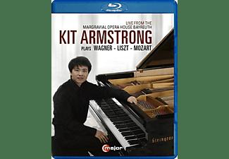 Kit Armstrong - Kit Armstrong plays Wagner,Liszt and Mozart  - (Blu-ray)