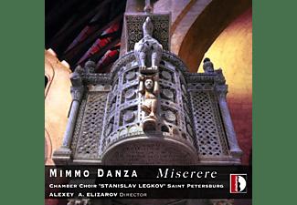 Elizarov/Chamber Choir Stanislav Legkov St.Peters - Mimmo Danza-Miserere  - (CD)