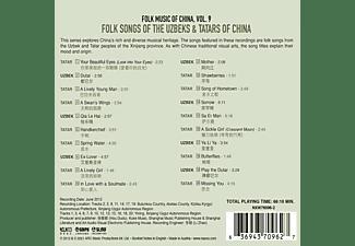 VARIOUS - Folk Music of China - Vol.9  - (CD)