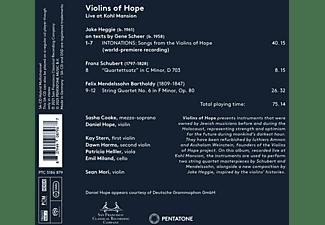 Cooke, Sasha/Hope,Daniel/Mori,Sean/Stern,Kay/+ - VIOLINS OF HOPE  - (SACD Hybrid)