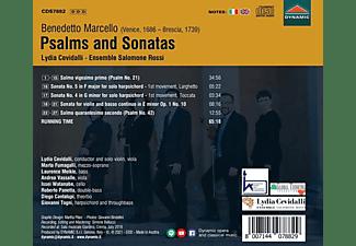 Lydia/fumagalli/meikle/vassalle/+ Cevidalli - Psalms and Sonatas  - (CD)