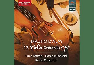 Fanfoni,Luca/Fanfoni,Daniel/Ensemble RealeConcerto - 12 Violinkonzerte op.1  - (CD)