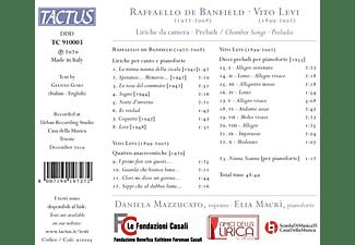 Mazzucato,Daniela/Macrì,Elia - LIRICHE DA CAMERA - PRELUDI  - (CD)