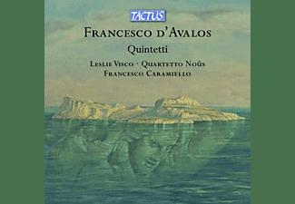Visco,Leslie/Quartetto Nous ensemble/Caramiello,F - QUINTETTI  - (CD)