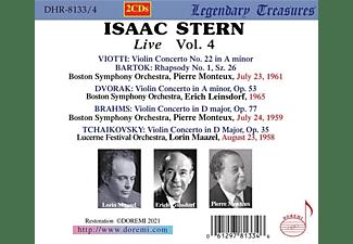 Isaac/leinsdorf/monteux/boston So/+ Stern - Isaac Stern: Live,Vol.4  - (CD)