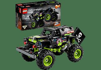LEGO 42118 Monster Jam® Grave Digger® Bausatz, Mehrfarbig