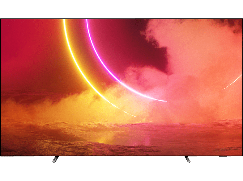 PHILIPS 55OLED805/12 OLED TV (Flat, 55 Zoll / 139 cm, 4K, SMART TV, Ambilight, Android TV™ 9 (Pie))