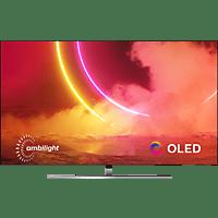 PHILIPS 65OLED855/12 OLED TV (Flat, 65 Zoll / 164 cm, OLED 4K, SMART TV, Ambilight, Android TV™ 9 (Pie))