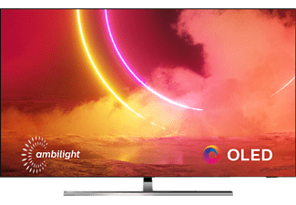 PHILIPS 55OLED855/12 OLED TV (Flat, 55 Zoll / 139 cm, OLED 4K, SMART TV, Ambilight, Android TV™ 9 (Pie))