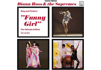 """Diana Ross & The Supremes - Sing And Perform """"Funny Girl"""" - The Ultimate Edition  - (CD)"""