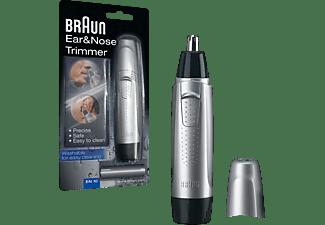 BRAUN Exact Series Ohr- und Nasenhaarschneider EN 10 silber