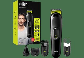 BRAUN Multi Grooming Kit 6in1 Schwarz/Grün