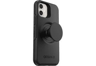 OTTERBOX Otter+Pop Symmetry Series, Backcover, Apple, iPhone 12 Mini, Schwarz