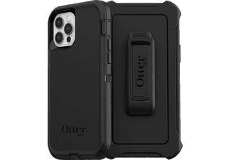 OTTERBOX Defender, Backcover, Apple, iPhone 12/ 12 Pro, Schwarz