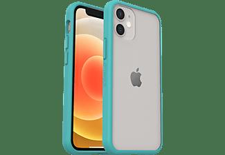 OTTERBOX React, Backcover, Apple, iPhone 12 Mini, Transparent/Blau