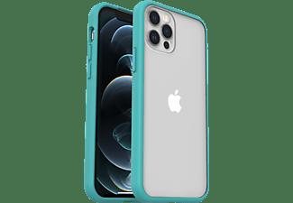 OTTERBOX React, Backcover, Apple, iPhone 12/ 12 Pro, Transparent/Blau
