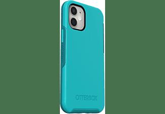 OTTERBOX Symmetry, Backcover, Apple, iPhone 12 Mini, Blau