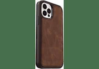 OTTERBOX Strada, Flip Cover, Apple, iPhone 12/ 12 Pro, Braun